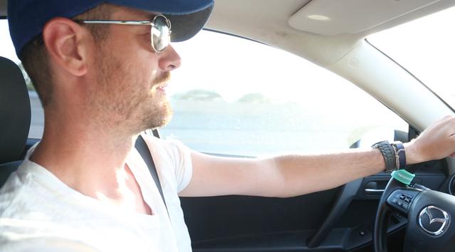 Driving back from Bonnaroo